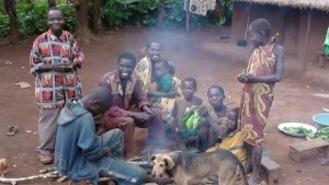 A typical family in DRC