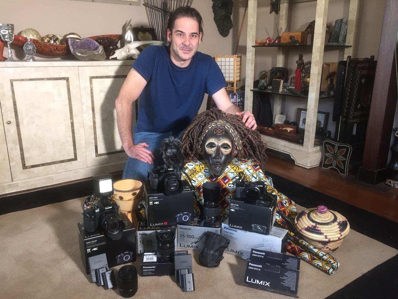 Material Panasonic José Antonio Ruiz