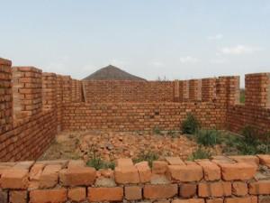 Mzungu Project School in the Congo is in progress